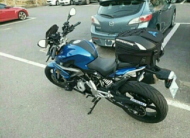 Mochila / maletín moto