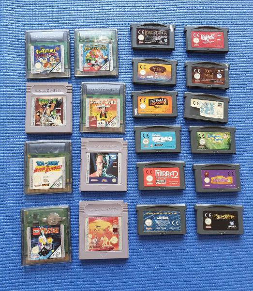Pack 20 juegos game boy advance/color