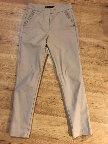 Pantalones Vestir Zara Rebajas Febrero Clasf