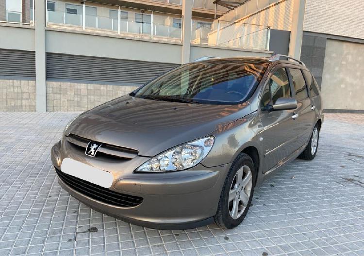 Peugeot 307sw acabados sport 1.6hdi - 190.000kms