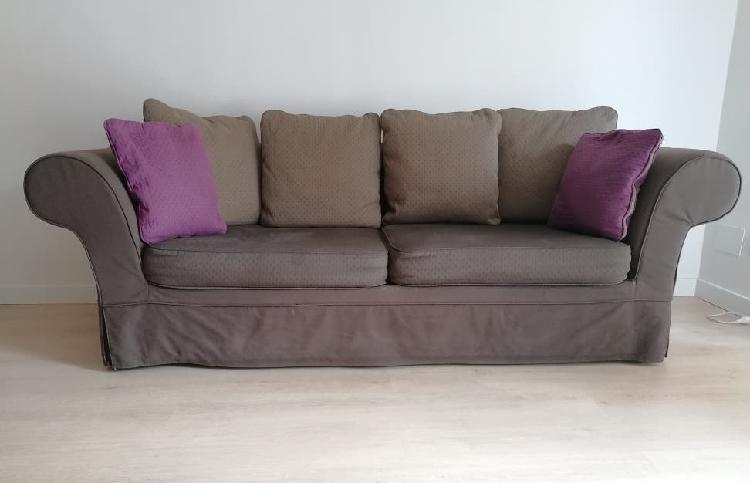 Sofa 2/3 plazas convertible en cama 1,35