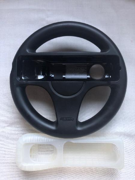 Wii volante + funda mando