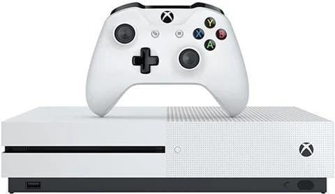 Xbox one s blanca 500gb juegos 2 mandos y cascos