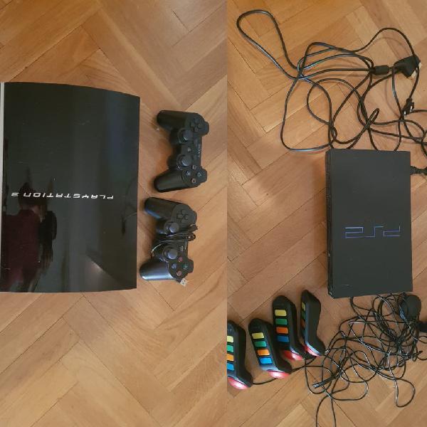 Consolas playstation 2 y 3