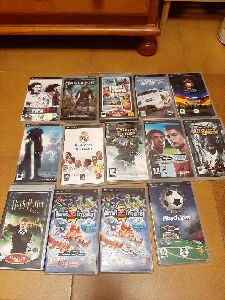 Pack juegos psp