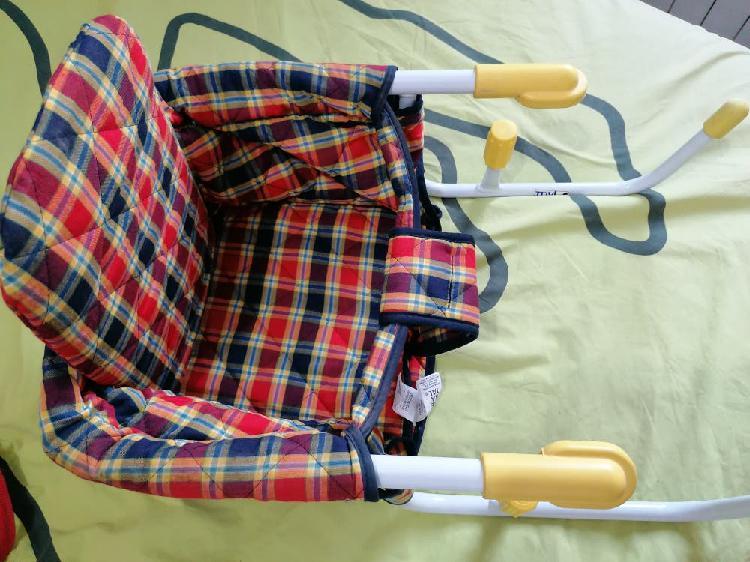 Trona portátil de mesa o de viaje prenatal