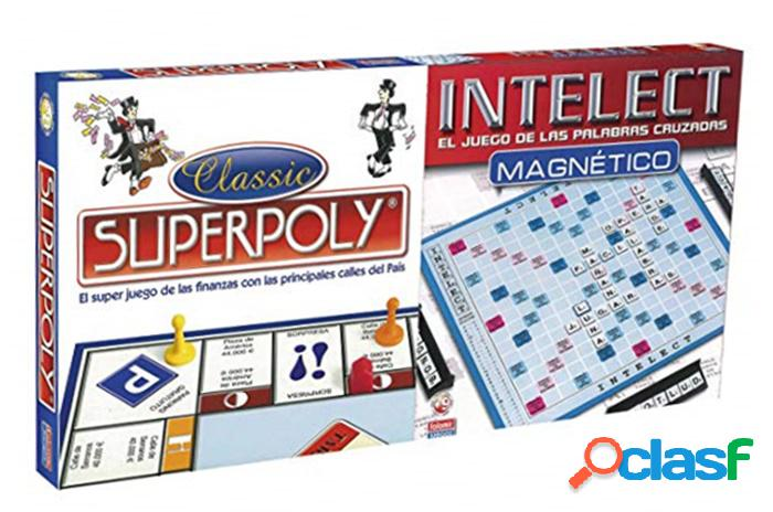 Pack juegos superpoly + intelect magnetico
