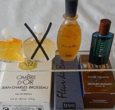 23 - Miniaturas de perfumes Boa, Brosseau