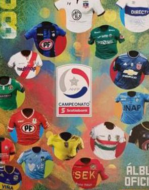 Campeonato nacional chile 2018. album 112 cromos