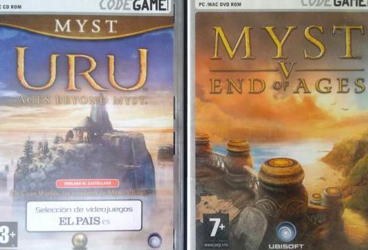 Lote juegos pc myst