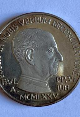 Medalla conmemorativa pablo vi