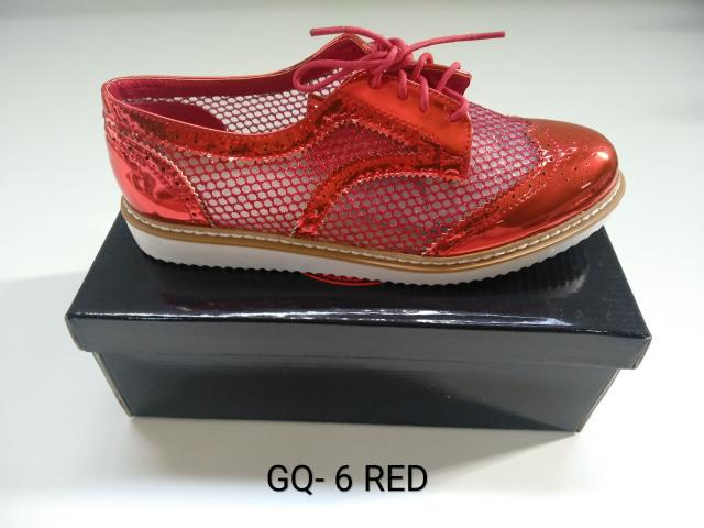 Stock calzado oxford mujer