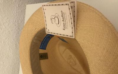 Sombrero panamá ecuatoriano para hombre
