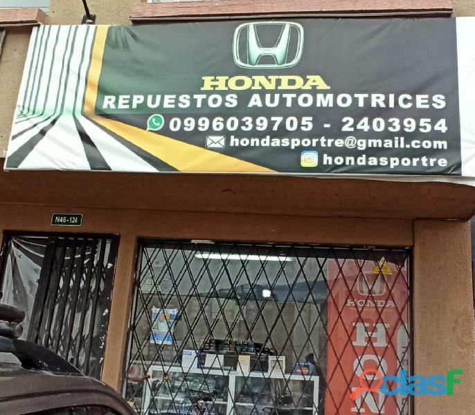 HONDA SPORT REPUESTOS