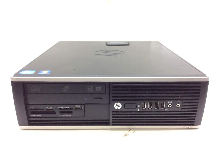 Pc hp compaq 6200 pro small form factor