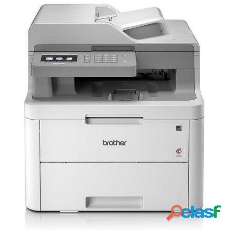 Multifuncion brother wifi laser color dcp-l3550cdw - 18ppm - duplex -