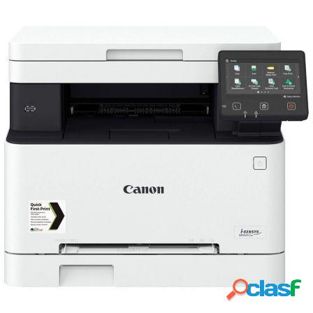 Multifuncion canon wifi laser color i-sensys mf641cw - 18ppm - scan 60
