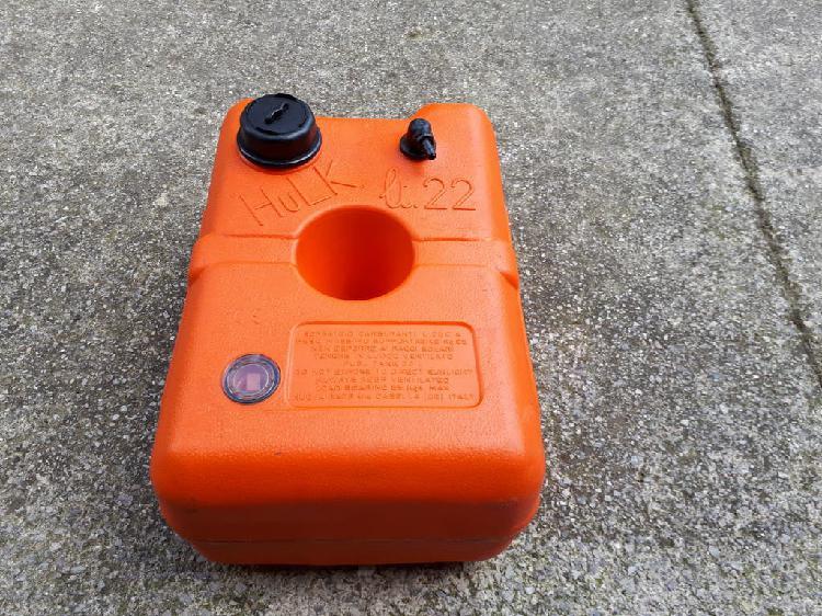 Deposito gasolina 22 litros con indicador de nivel