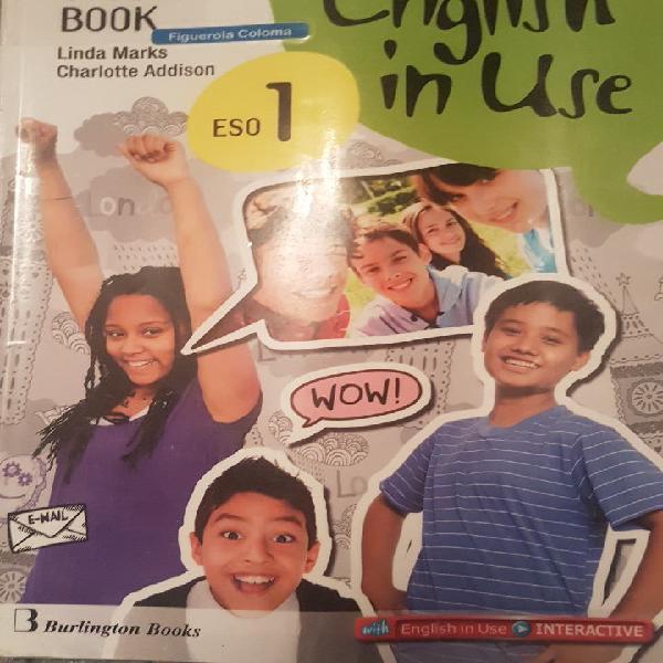English in use - estudent's book 1eso ed. burlingt