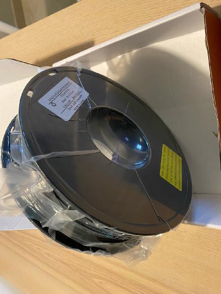 Filamento pla negro impresora 3d 1 kg