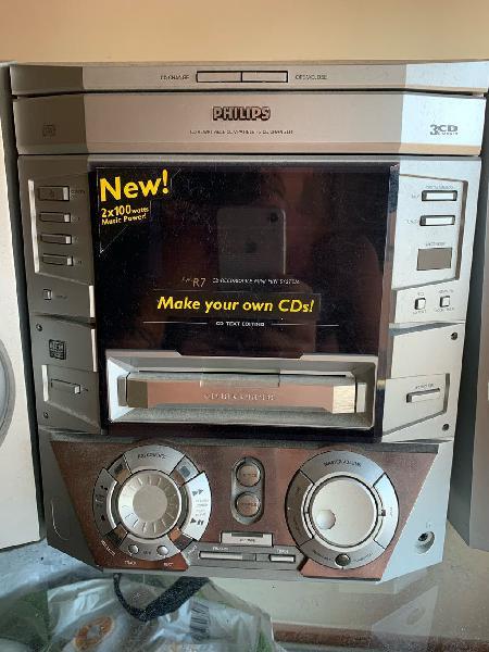 Grabador y reproductor de cd philips