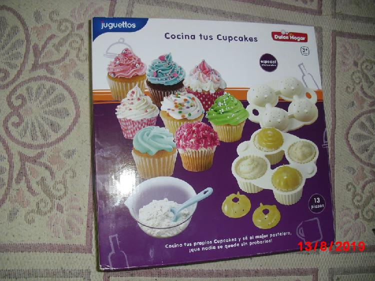 Juguete cocina tus cupcakes sin estrenar