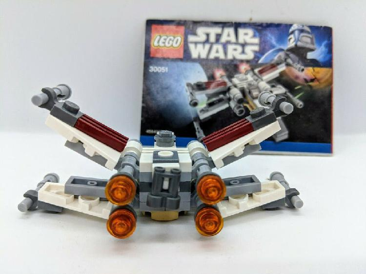 Lego star wars 30051 2009 x-wing ala caza fighter
