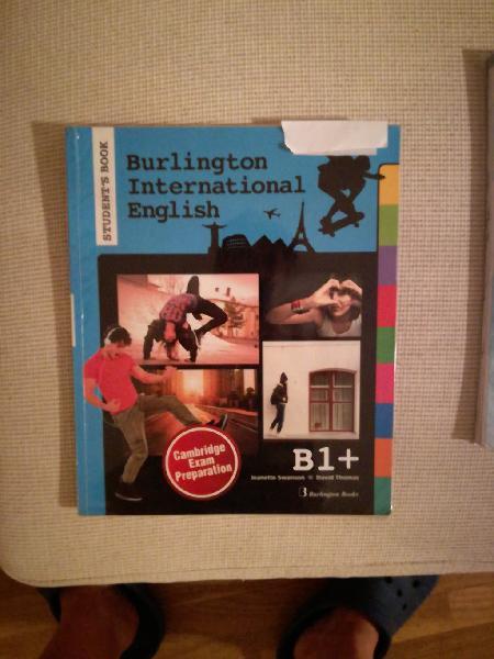 Libros ingles b1+ burlington international english