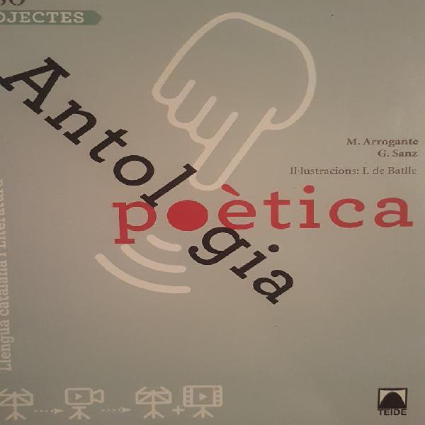 Llibre antologia poètica projectes 1eso
