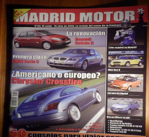 Madrid motor - junio 2003 nº 59 - chrysler crossfire, mini