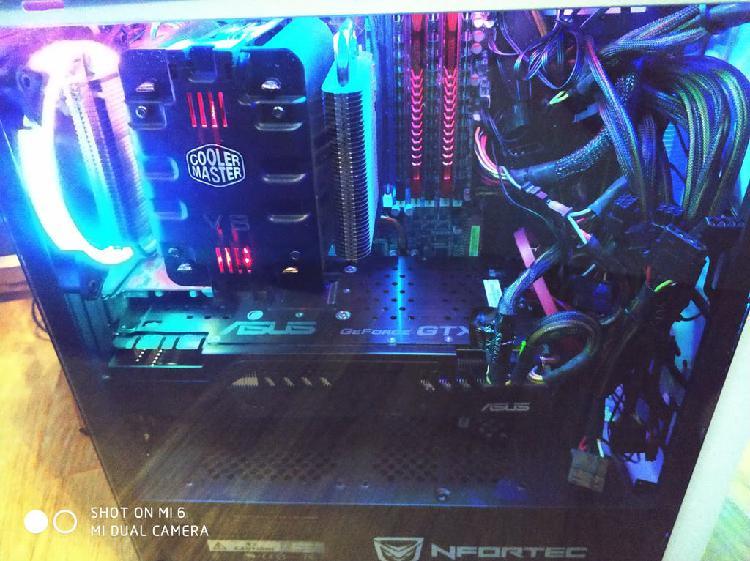 Pc gaming i7 965 extreme gtx680 2gb ddr5 20gb ram