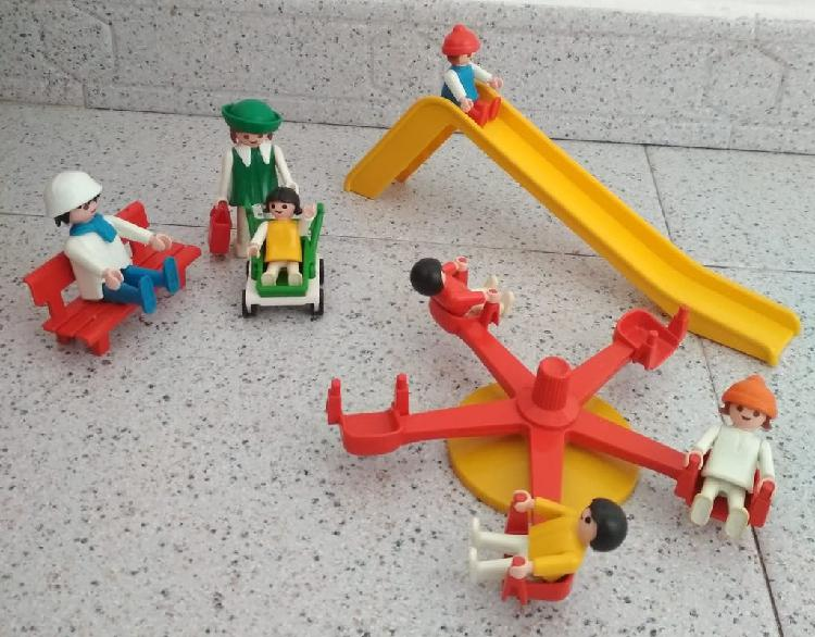 Playmobil vintage parque infantil años 80