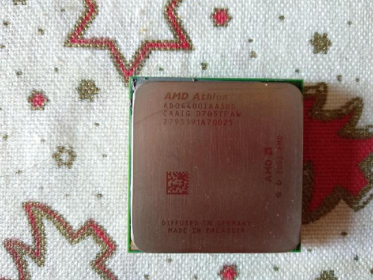 Procesador amd athlon 64 x2 + ventilador + disipad
