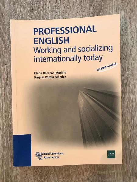 Professional english- (libro de teoría) uned