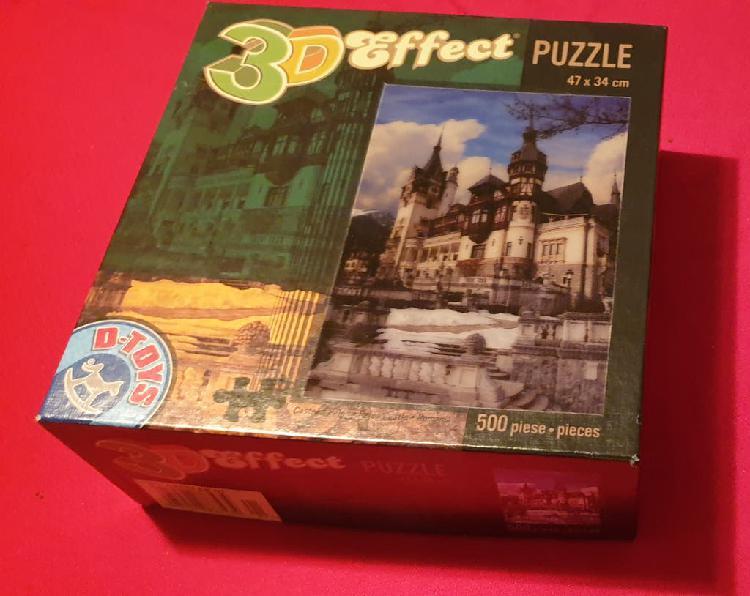 Puzzle con efecto 3d 500 piezas