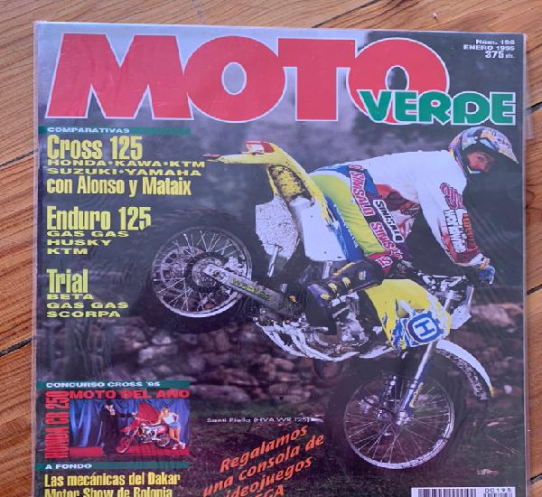 Revistas moto verde