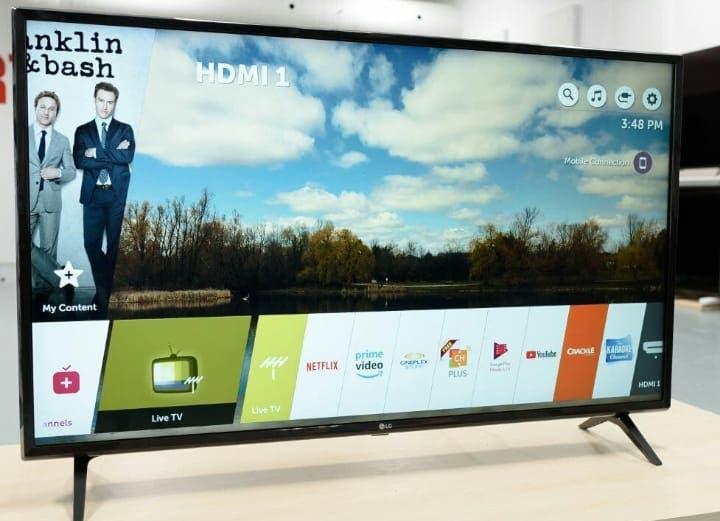 Televisión smart tv lg 50uk6300 nueva