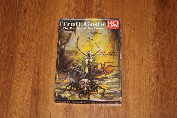 Troll gods runequest juego rol caja 1988 chaosium