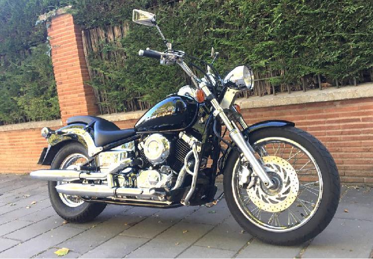 Yamaha drag star 650 cc 25.000km
