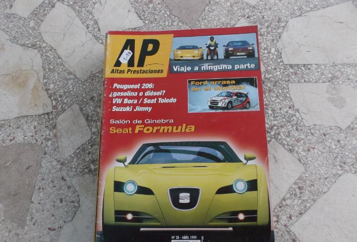 Altas prestaciones nº 38, set formula, peugeot 2006, vw