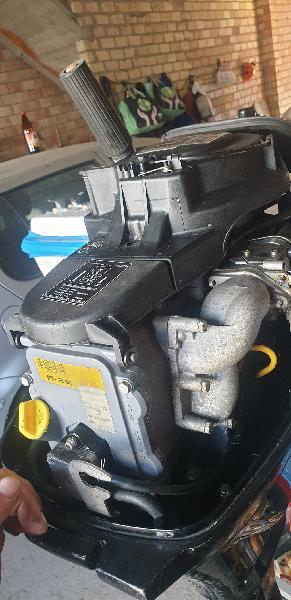 Cambio motor fueraborda mercury 9.9hp