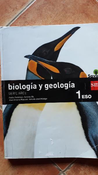 Libro biología y geología 1°eso editorial sm savia