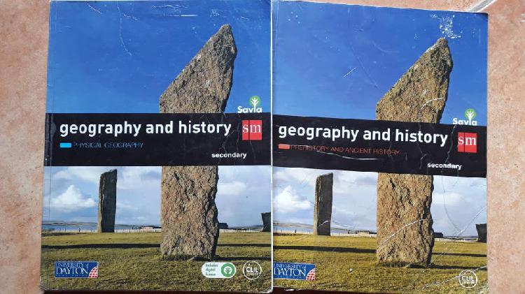 Libro geography and history 1°eso editorial sm