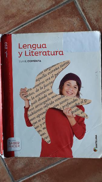 Libro lengua y literatura 1°eso editorial sm