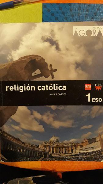 Libro religión católica 1°eso editorial sm
