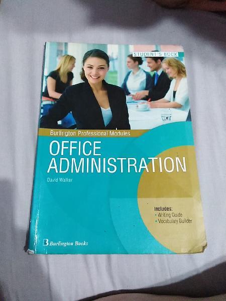 Office administration. students books. burlington