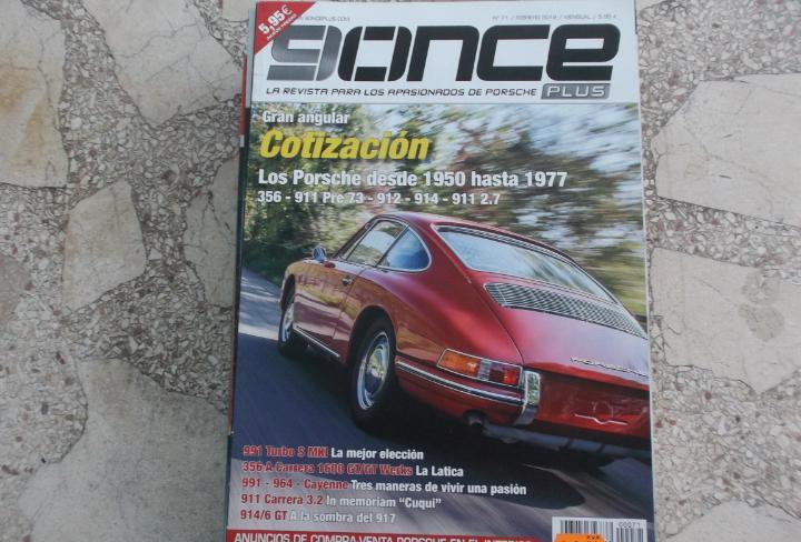 Revista de cohe 9 once plus nº 71, la revista para los