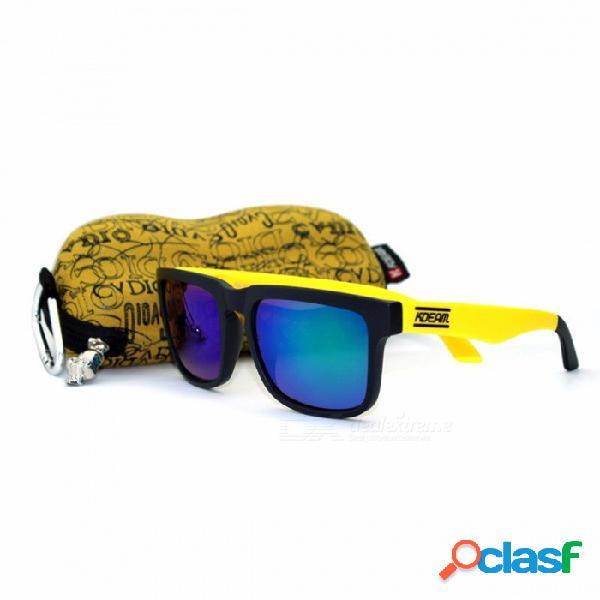 KDEAM Deporte Al Aire Libre Gafas De Sol Polarizadas Hombres Marca Gafas De Sol Gafas De Sol De Diseñador Con Caja De Uso Múltiple