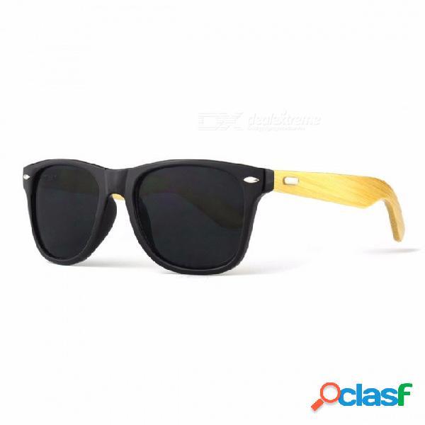 Las Gafas De Sol Con Estilo De Protección UV400 Para Mujer, De Moda Más Moderna, Son Gafas De Sol Antirreflectantes De Madera.