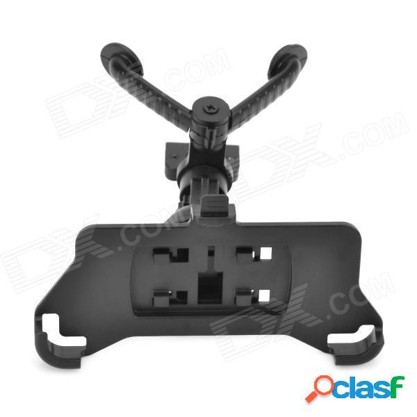 Soporte del soporte de la rotación de 360 grados del respiradero de aire del coche para el iphone 5s - negro